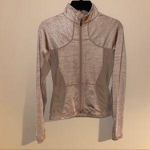 Rare Lululemon Athletica tan jacket with mesh 4